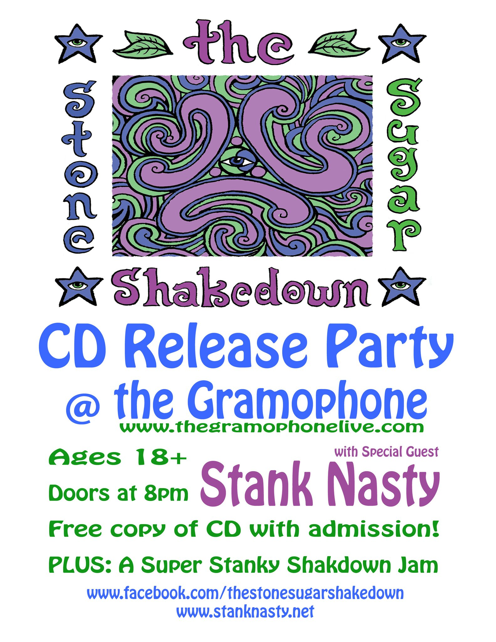 The Stone Sugar Shakedown CD Release Party