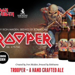 "Iron maiden's ""Trooper"" Beer"